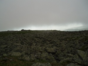 Lost the cairn