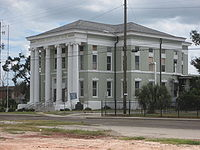 Hancock County Courthouse, another antebellum building, will figure in the nex post
