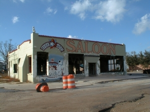Same restaurant in 2006.No plans to rebuild. . .