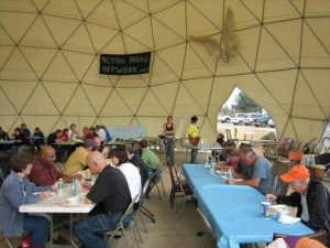 Lunch under the Dome