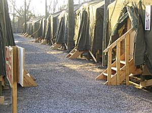 Tent City in Pass Christian