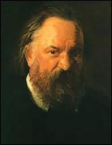 Aleksander Herzen portrait by Nickolai Ge 1864