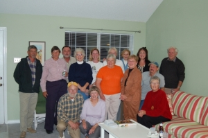 Our group with Mississippi Master Gardeners who survived and stayed to rebuild