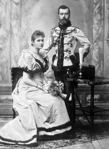 Tsar Nicholas II and Alexandra
