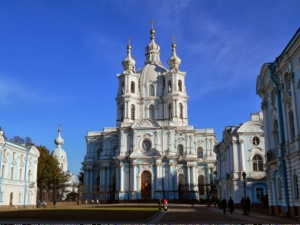 Smolny Cathedral with convent
