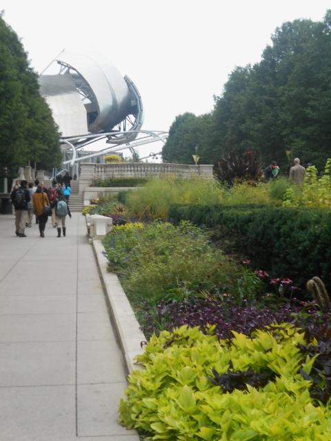 Chicago for Gardeners   A Heron\'s Garden